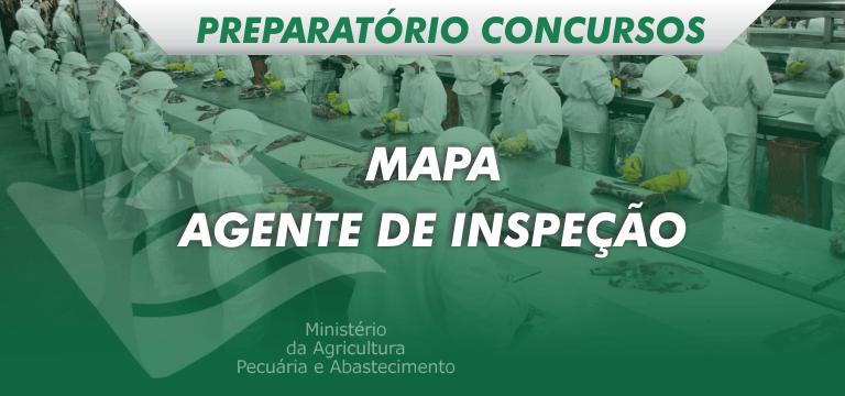preparatório veterinário agente de inspeção mapa