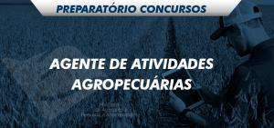 preparatório agente de atividades agropecuárias
